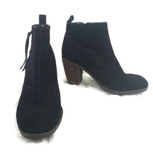 DV by Dolce Vita black suede booties size 7